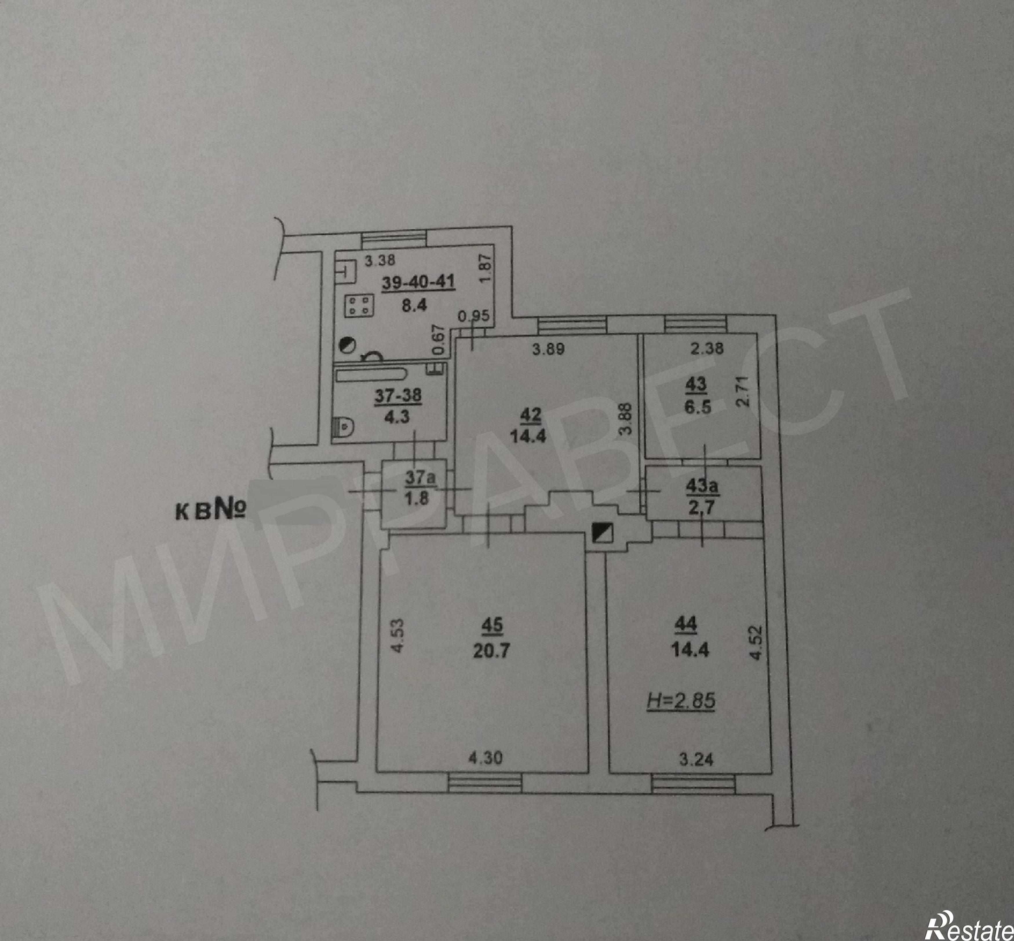 Купить квартиру за 3 650 000 рублей на Соборный, 87